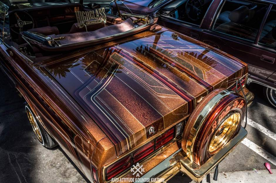 Lowrider Wonderland Elysian Park Anti Attitude - Elysian park car show 2018