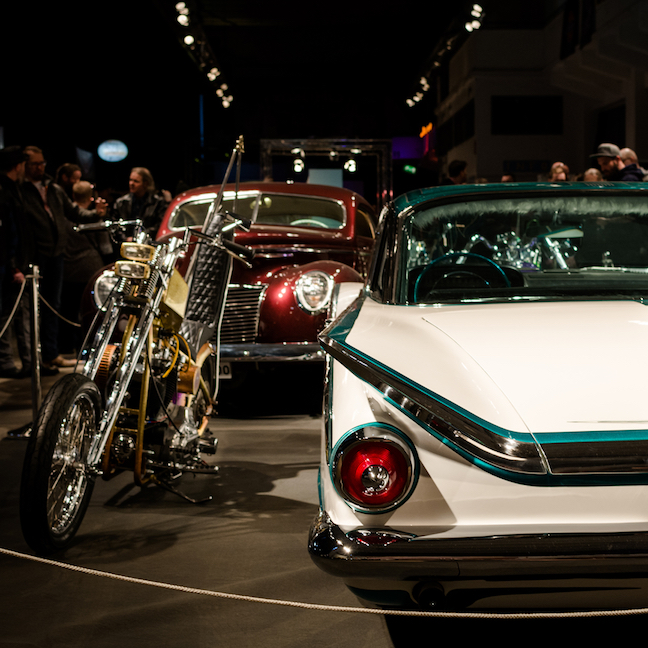 The Coolest Cold Show In The World: KUSTOM KULTURE SHOW